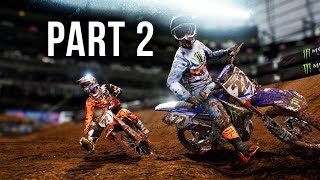 Monster Energy Supercross Gameplay Walkthrough Part 2 - CAREER MODE