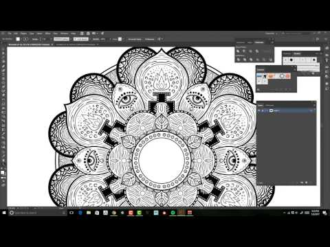 Creating A Mandala In Illustrator Step By Step