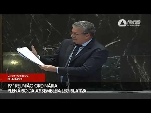 João Leite: obstrução à votação de projetos em defesa do nióbio mineiro