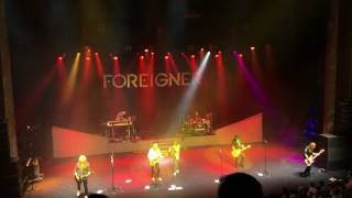 Foreigner - Hot Blooded  at London Palladium, 07/06/2016