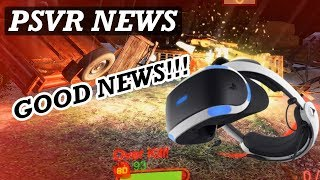 PSVR NEWS | Good PSVR Releases Soon | VR Shooter Gets Remaster In May