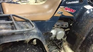 8. How to change Oil & Filter in a 4 wheeler ATV