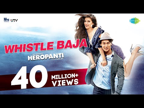 Check out the Official Video Whistle Baja from Heropanti featuring Tiger Shroff and Kriti Sanon