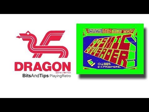 DRAGON 32 Games COSMIC CRUSADER 1984 Video juegos 8 BITS BITSANDTIPS