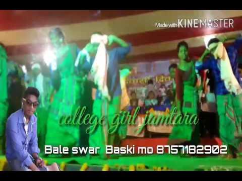 Video Jamtara santhali college girl's dance( baleswar) download in MP3, 3GP, MP4, WEBM, AVI, FLV January 2017