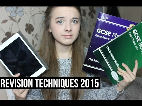 Study Tips and Revision Techniques 2015! | Eve