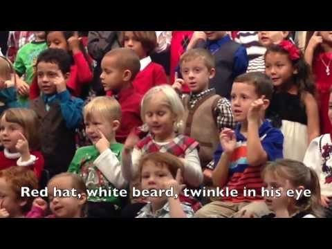 kindergarten - Very entertaining video of a KODA (kid of deaf adults) enthusiastically singing holiday songs using sign language and animated facial expressions. Watch this...