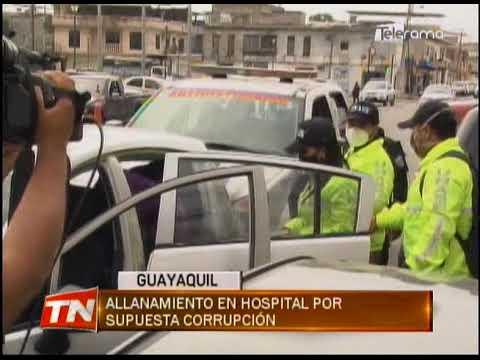 Allanamiento en hospital por supuesta corrupción