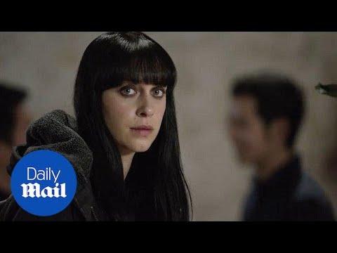 Jessica Falkholt stars in the 2018 fantasy film 'Harmony' - Daily Mail