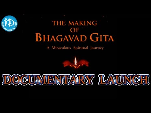 The Making of Bhagavad Gita Documentary Launch | by Governor E.S.L Narasimhan | Full Event