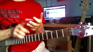 sedikit lick tapping untuk temen2 yg baru belajar gitar  :)