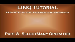 Download Lagu Part 8   SelectMany Operator in LINQ Mp3
