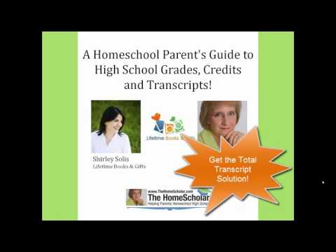 Homeschool Transcript Solution Review - Shirley Solis