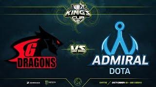 SG Dragons против Admiral Dota, Первая карта, Групповой этап, SEA Region, King's Cup 2