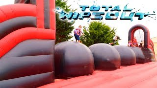 Video VLOG - TOTAL WIPEOUT au PARC DES DUNES - Structures Gonflables Géantes MP3, 3GP, MP4, WEBM, AVI, FLV September 2017