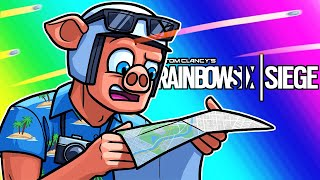 Rainbow Six Siege Funny Moments - I'm Here to Find My Plane!