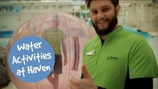 What Water Activities are there at Haven? (01:14)