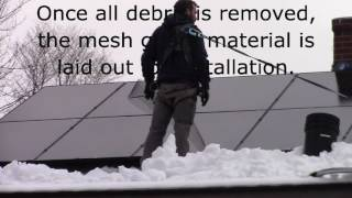 Solar Mesh Guard Installation Video