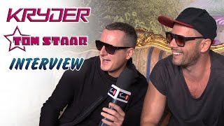★  Watch the 3D version of this interview here: http://youtu.be/L5Weiff-hh4_______________________________► KRYDER:https://FB.com/KryderMusichttps://twitter.com/KryderMusic► TOM STAAR:https://FB.com/tomstaarhttps://twitter.com/TomStaar► FUN 1 TV:https://FB.com/FUN1TVhttps://twitter.com/funonestation