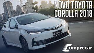 Ver o vídeo Novo Toyota Corolla 2018