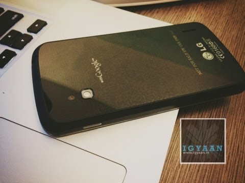 india - We take throught the paces the LG/ Google Nexus 4 just launched in India see more details : http://iGyaan.in Check out our new Channel http://youtube.com/iGy...
