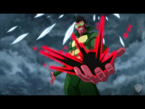 """Justice League vs. Teen Titans - """"The Hour of His Rising is at Hand"""""""