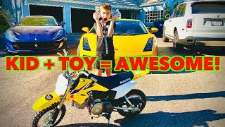 SURPRISING MY COUSIN FOR BIRTHDAY WITH NEW MOTOCROSS BIKE! *EMOTIONAL* by Vehicle Virgins