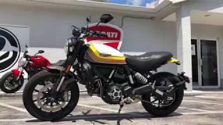 5. 2018 Ducati Scrambler Mach 2.0 Walkaround at Euro Cycles of Tampa Bay