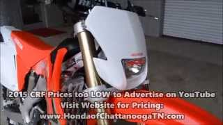 10. 2015 CRF250X For Sale / Honda of Chattanooga TN Dirt Bike Dealer - CRF250