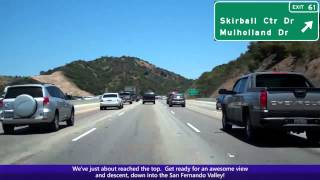Video The NEW AND IMPROVED Interstate 405 in Los Angeles over Sepulveda Pass MP3, 3GP, MP4, WEBM, AVI, FLV Januari 2019