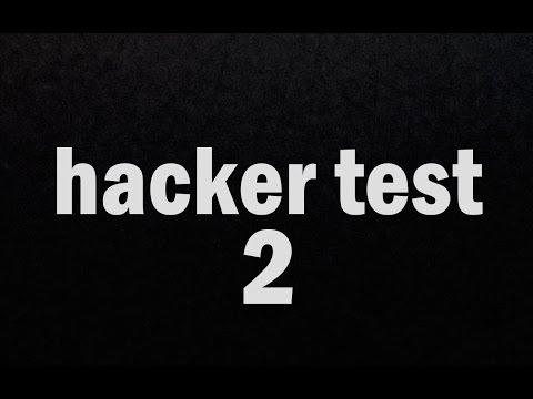 HACKER TEST LEVEL, 7, 8, 9 e 10 (видео)