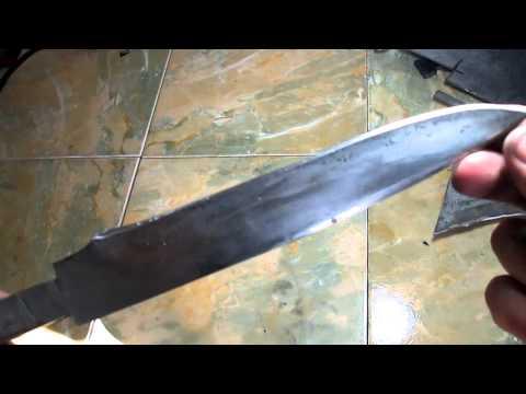 Видео закалка ножа в домашних условиях