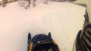 2. ski-doo summit 800 H.O wheelie GOPRO