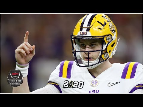 Joe Burrow caps perfect season with 6 TDs in CFP National Championship | College Football Highlights