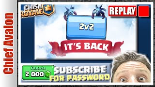🔴 REPLAY: 2'000 GEMS TOURNAMENT and 2v2 BATTLES WITH VIEWERS | Clash Royale