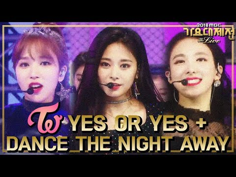 [HOT] TWICE  - YES OR YES + DANCE THE NIGHT AWAY