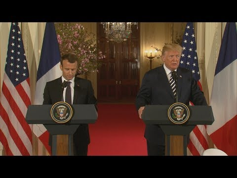 President Donald Trump, French Pres. Macron hold joint press conference | ABC News