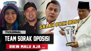 Video SEDERET TEAM SORAK OPOSISI, Cuman Modal Lambe , Bikin Malu Prabowo - Sandi MP3, 3GP, MP4, WEBM, AVI, FLV Oktober 2018