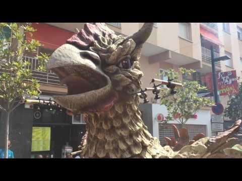 XVI Mostra de Bestiari Festa Major Ripollet 2016 (видео)