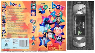 'Toybox 4' UK VHS (1998) full download video download mp3 download music download
