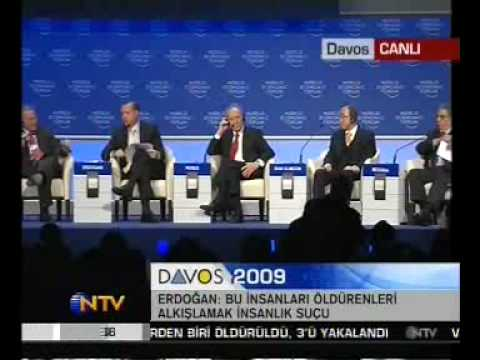 Davos - CHECK OUT: http://de.youtube.com/watch?v=liJ4V6Is1g0 israel palestine shimon peres english Recep Tayyip Erdogan, Prime Minister of Turkey World Economic Foru...