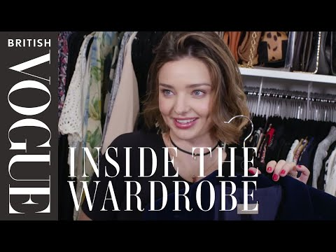 Miranda Kerr: Inside the Wardrobe | British Vogue (видео)
