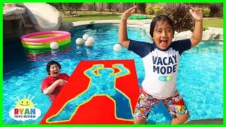 Video Jumping Through impossible Shapes into Water!! MP3, 3GP, MP4, WEBM, AVI, FLV Juli 2019