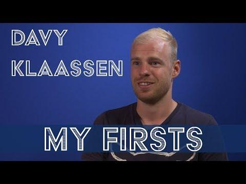 Video: MY FIRSTS: DAVY KLAASSEN