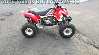 3. 2008 Polaris OUTLAW 525 IRS for sale in Meriden, CT
