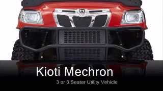 6. 2014 Kioti Mechron UTV