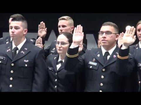 Tarleton, ROTC Commissioning May 2016