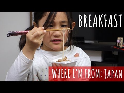 What Japanese Breakfast is Like (видео)