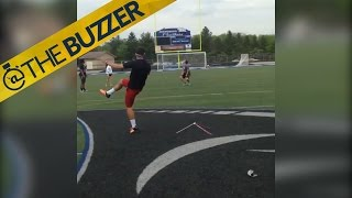 HS kicker nails 60-yard GF... while blindfolded by @The Buzzer