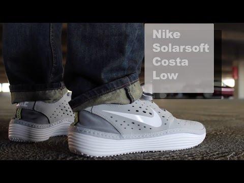Nike - Solarsoft Costa Low (Closer Look On Feet) видео